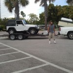 And hes gone! Bye ol Jeep you will be missed~