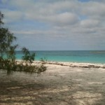 Ocean side of Shroud Cay
