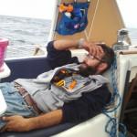 Captain resting