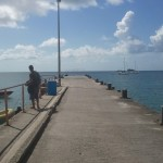 The dock in Carriacou