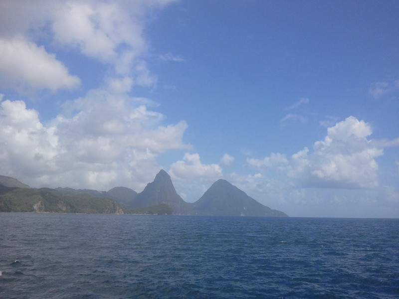 The-Pitons-from-a-distance